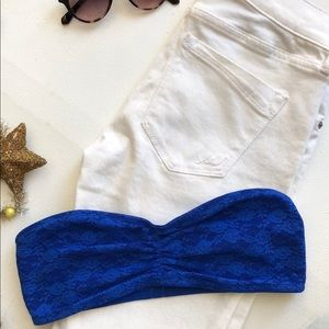 NWT Pink by Victoria's Secret Bandeau 4th of July